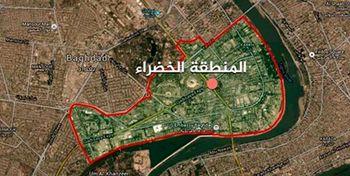 انفجار در اطراف سفارت آمریکا در بغداد