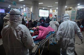 بیمارستانِ ۱۰۰۰ تختخوابی ووهان که طی 10 روز ساخته شد آغاز به کار کرد