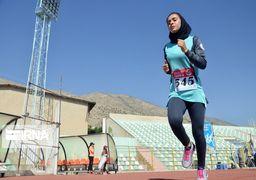 گزارش تصویری رقابتهای دوومیدانی بانوان کشور