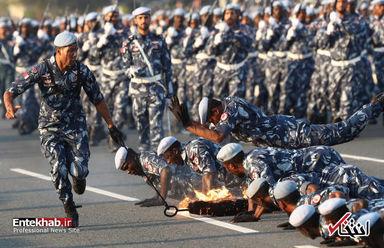رژه نیروهای مسلح قطر؛ خطونشان برای عربستان سعودی
