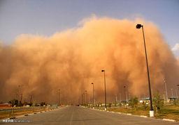 طوفان شن در یزد+عکس