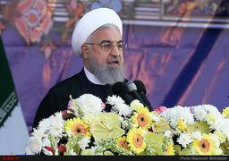 روحانی: جلوی صادرات نفت ما را بگیرند نفتی از خلیج فارس صادر نمیشود/ وعده به بازنشستگان و مسکن اولیها