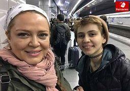 علت عجیب اصرار بهاره رهنما برای مهاجرت دخترش از ایران!! + عکس