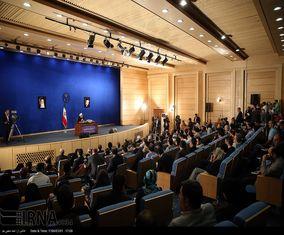 کنفرانس خبری رئیس جمهوری