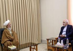 «جوادیآملی» خطاب به «ظریف»: شما یک سروگردن از آنها بالاتر هستید/ جهان باید بفهمد که ایران همواره پای امضا و تعهد خود ایستادهاست