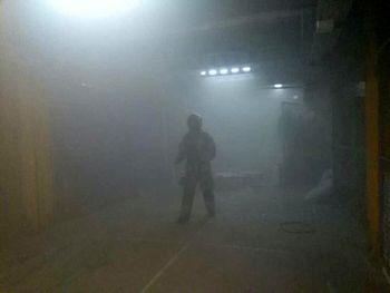 آتشسوزی یک بیمارستان در خاوران تهران