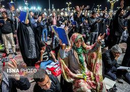 گزارش تصویری از حال وهوای شبهای قدر در مناطق مختلف کشور