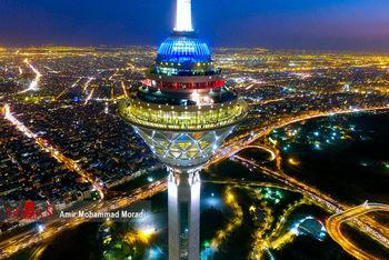 عکس هایی از برج میلاد تهران