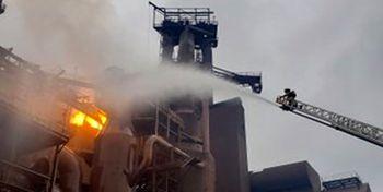 انفجار در بزرگترین کارخانه فولاد سازی جهان در ایندیانای آمریکا