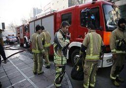 علت آتش سوزی گسترده امروز بازار تهران مشخص شد