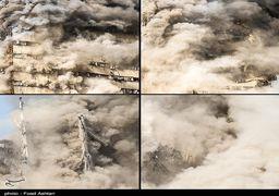 ناگفتههای گزارشگر صدا وسیما از لحظه ریزش ساختمان پلاسکو