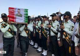 تصاویری از تشییع شهدای حادثه تروریستی چابهار