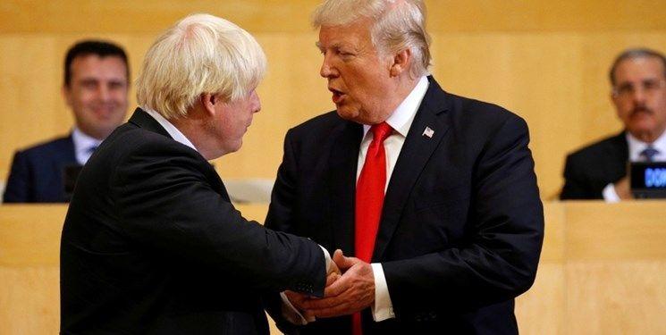 ترامپ: اگر جانسون نخستوزیر شود روابط لندن-واشنگتن بسیار خوب میشود