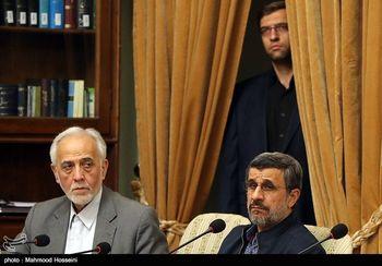 احمدی نژاد و معاونش در جلسه مجمع تشخیص مصلحت نظام + عکس