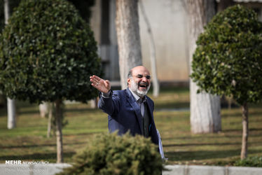 در حاشیه جلسه امروز هیئت دولت / علی عسگری