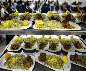 تصاویر افطار؛  غذای حضرتی