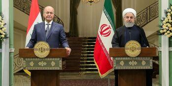روابط اقتصادی ایران و عراق را میتوان به ۲۰ میلیارد دلار رساند/ وعده برهم صالح برای حل مشکل ریزگردها