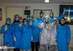 تصاویر بخش ویژه «بیماران کرونا» بیمارستان امام رضا(ع) در تبریز