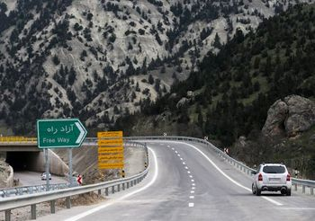افتتاح  11 کیلومتر باقی مانده آزادراه قزوین - رشت در 2 مرحله