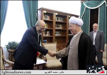 دیدار وزیر صنعت، معدن و تجارت با رئیس مجمع تشخیص مصلحت نظام