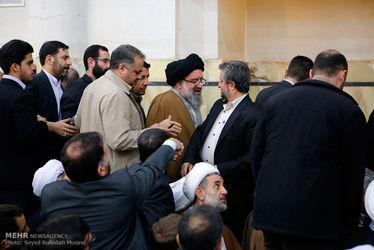 مراسم ترحیم آیت الله هاشمی رفسنجانی در مسجد اعظم قم
