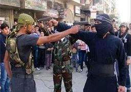 درگیری تروریستها با یکدیگر در سوریه