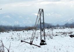 قطع برق 108 روستای همدان