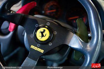 شرکت«فراری» موتورسیکلت هم ساخت +تصویر