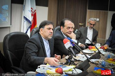 گزارش تصویری حضور عباس آخوندی در اتاق بازرگانی ایران