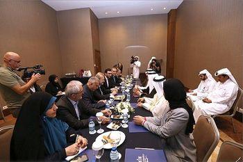 رئیس مجلس قطر: لاریجانی فرد دارای حکمت است