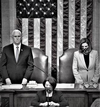تأیید رسمی پیروزی جو بایدن در کنگره/ ایستادگی مایکپنس مقابل ترامپ و یارانش