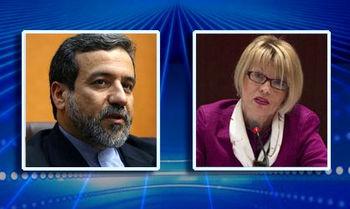 دیدار عراقچی و اشمید درباره متن توافق