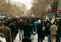 جمعیت ایران از 83 میلیون نفر عبور کرد + جدول