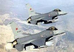 حمله جنگنده های ترکیه به مناطقی در اقلیم کردستان عراق