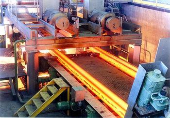 صادرات بیش از 450 هزارتن شمش در فولاد خوزستان