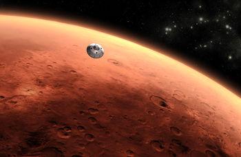 بخشی از مریخ به زمین آورده میشود