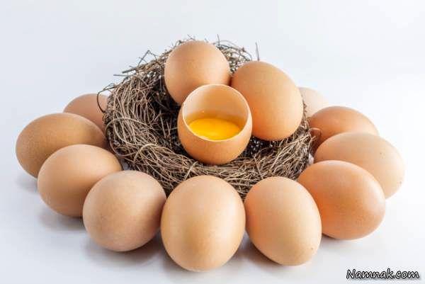 خطرات تخم مرغ فاسد