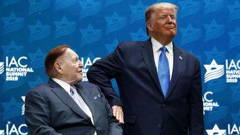 افشای کمک مالی 250 میلیون دلاری میلیاردر یهودی به ترامپ