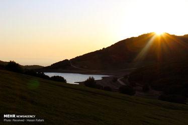 طبیعت شگفتانگیز «دریاچه سوها» در استان اردبیل