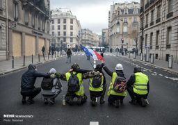 تلاش دولت فرانسه برای مذاکره با معترضان