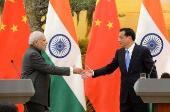 رفع اختلاف مرزی چین و هند