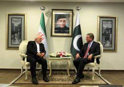 ظریف با فرمانده ارتش و وزیر خارجه پاکستان دیدار کرد