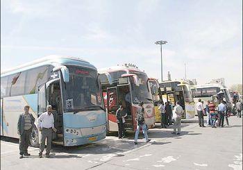 58درصد سفرهای جاده ای با اتوبوس انجام شد