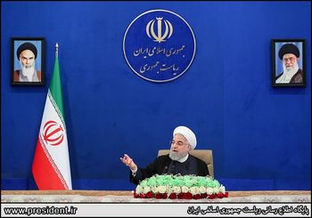روحانی:درآمد ما در سال ۵۰ میلیارد دلار کم شده است