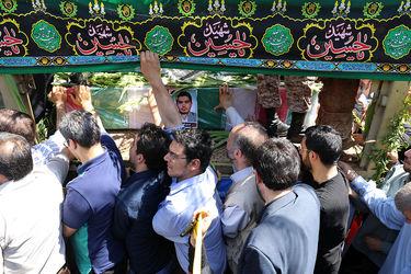 مراسم باشکوه تشییع پیکر شهدای حوادث تروریستی تهران