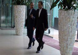دیپلمات های ایران و 4+1 وارد هتل کوبورگ وین شدند