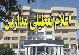 جزئیات تعطیلی مدارس تهران و شهرستانهای استان در روز دوشنبه