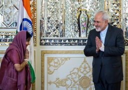 ظریف: هند تحریم های یکجانبه علیه ایران را به رسمیت نمی شناسد