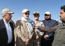 علت لباس نظامی پوشیدن علی لاریجانی مشخص شد + عکس