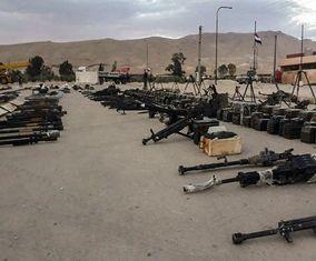 تسلیحات سنگین نظامی تکفیریها که تحویل نیروهای سوری شد +تصاویر